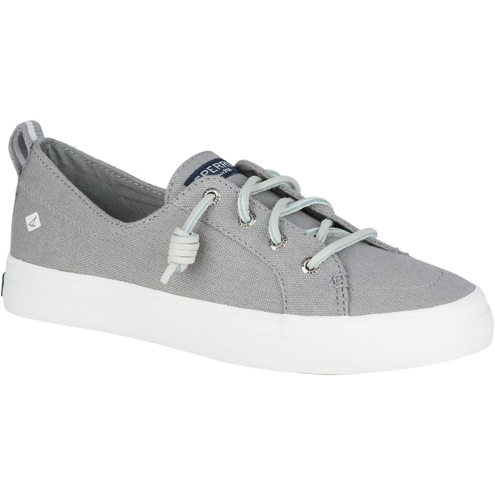 SPERRY Women's Crest Vibe Canvas Lace-Up Sneakers 5