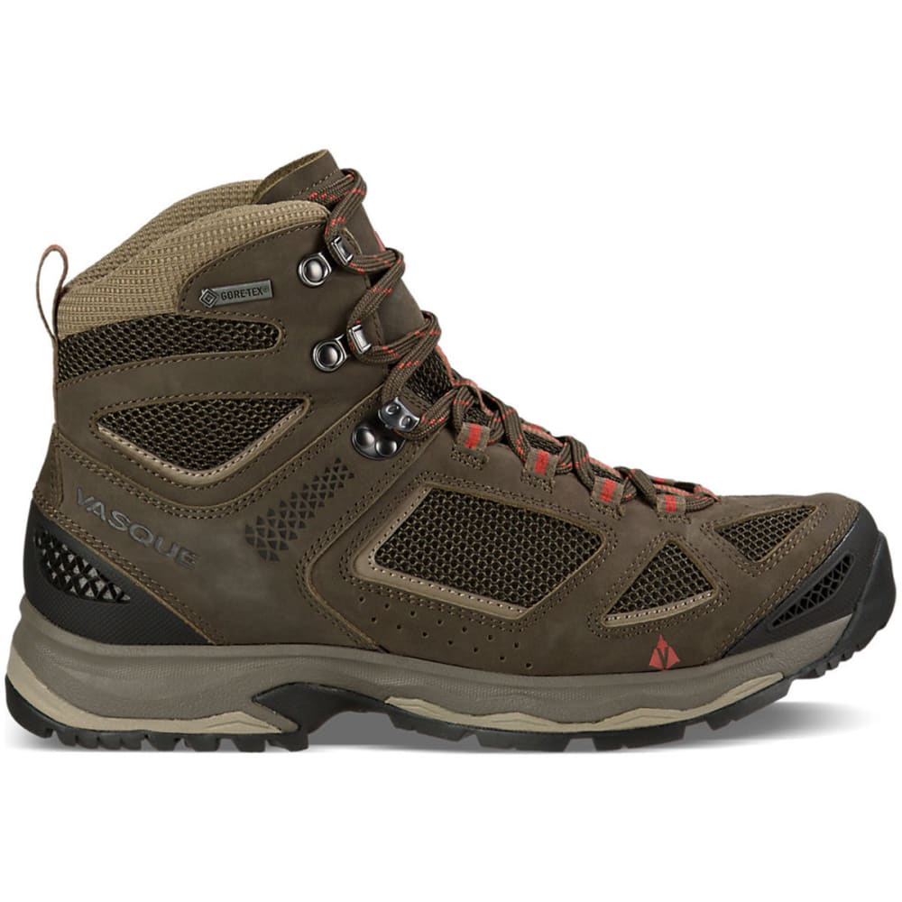 VASQUE Men's Breeze III GTX Hiking Boots, Black Olive - BLACK OLIVE/BUNGEE