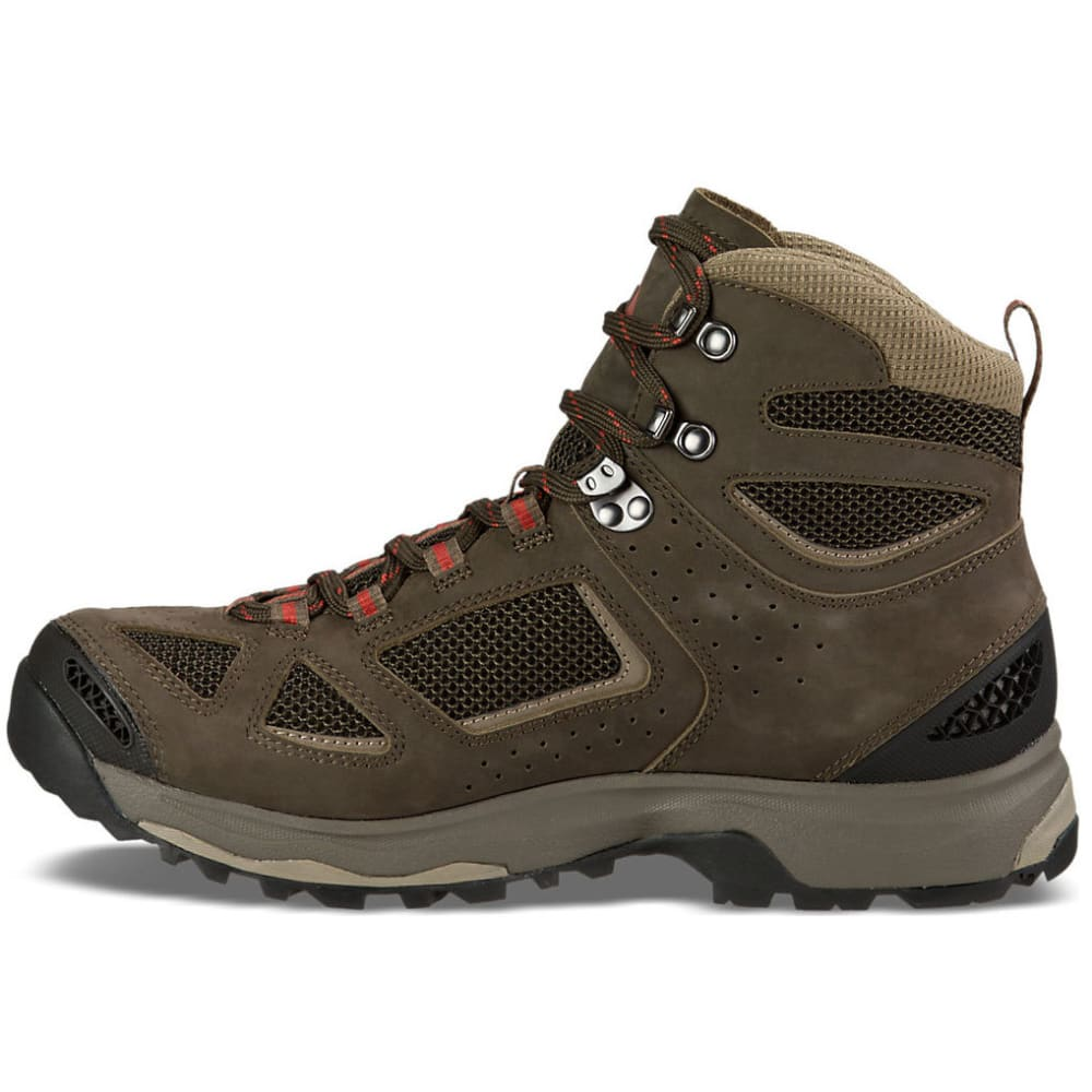 VASQUE Men's Breeze III GTX Hiking Shoes, Wide - BLACK OLIVE/BUNGEE
