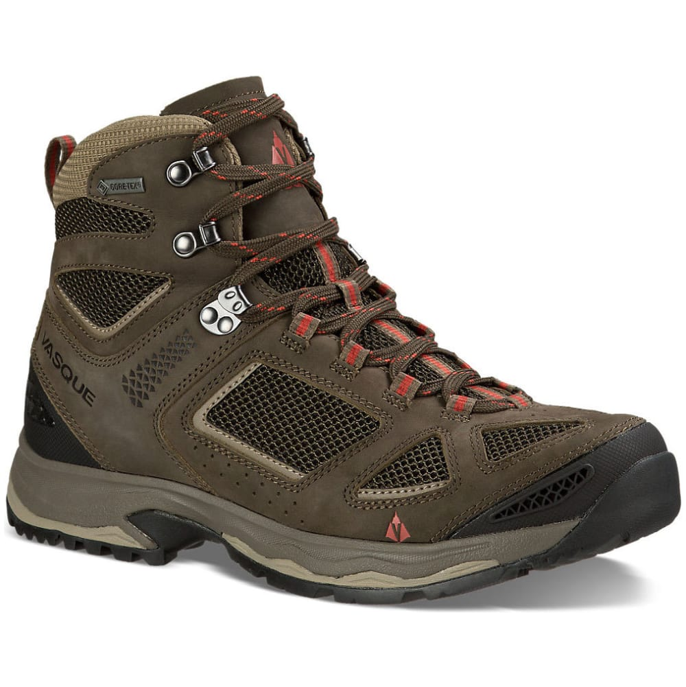 VASQUE Men's Breeze III GTX Hiking Shoes, Wide, Black Olive - BLACK OLIVE/BUNGEE