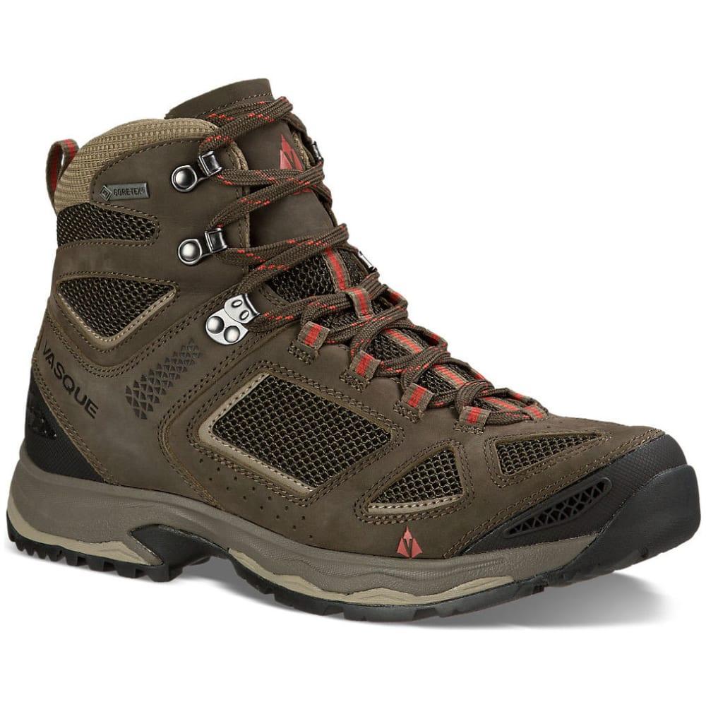 VASQUE Men's Breeze III GTX Hiking Shoes, Wide - BLACK OLIVE/BUNGEE
