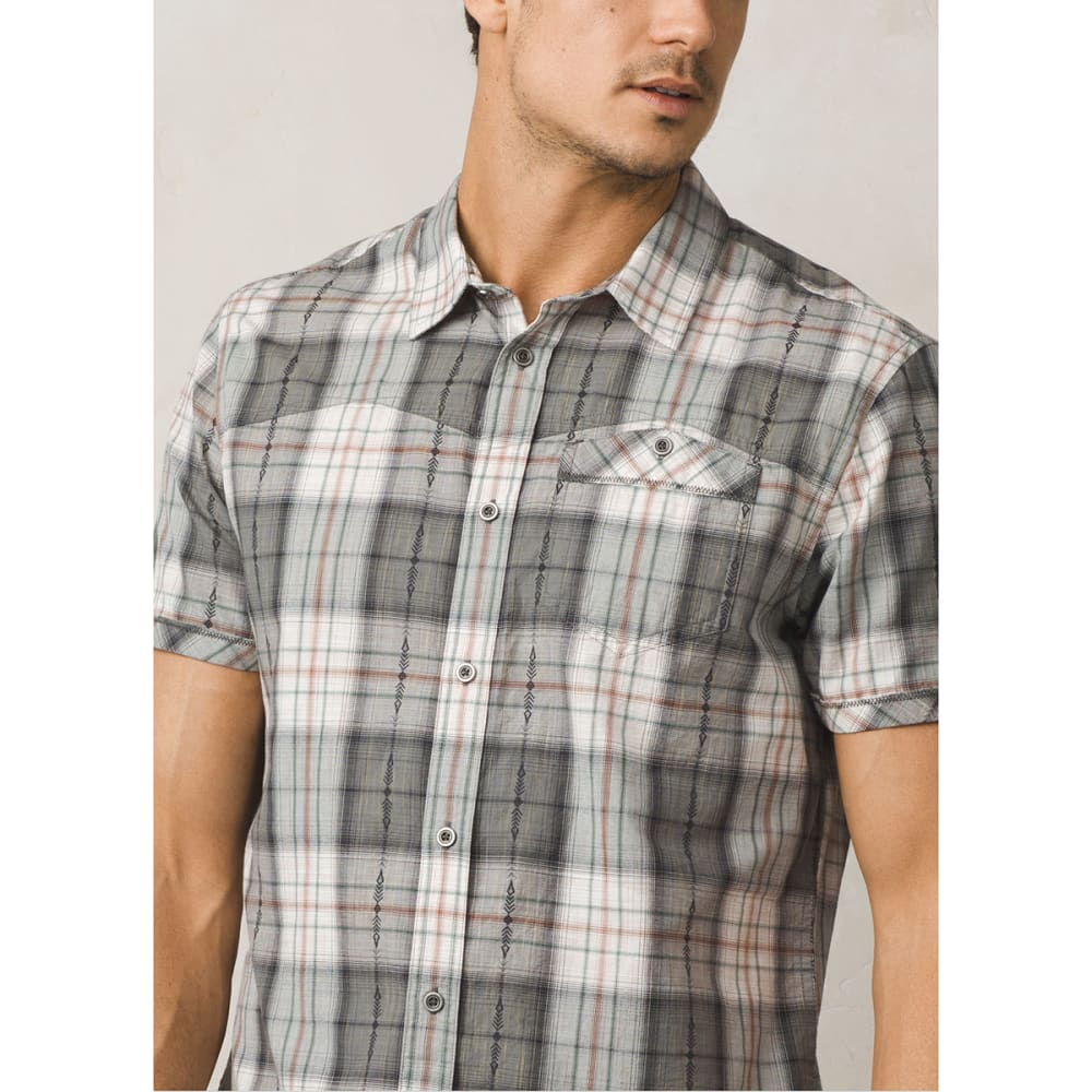 PRANA Men's Patras Slim Fit Short-Sleeve Shirt - Eastern Mountain ...