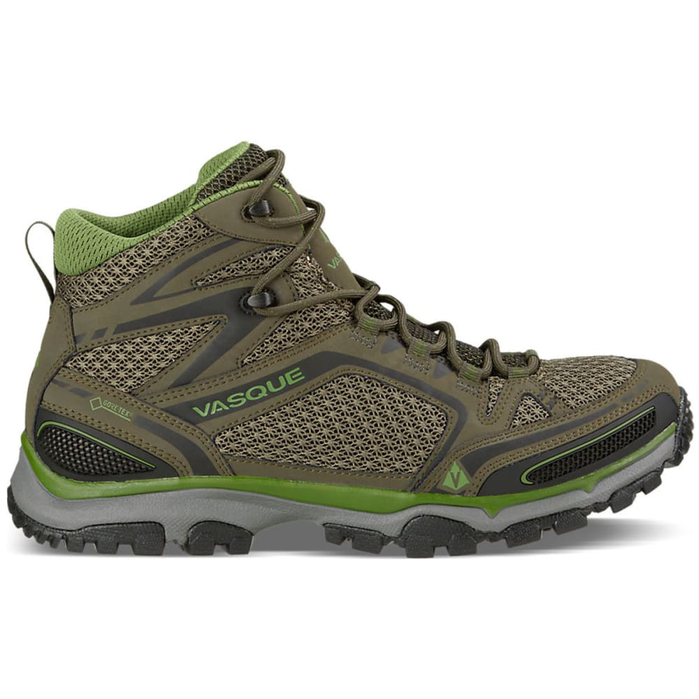 VASQUE Men's Inhaler II GTX Hiking Shoes, Brown Olive/Pesto - BLACK OLIVE/PESTO