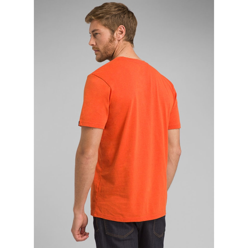 PRANA Men's Crew T-Shirt - KOI HEATHER