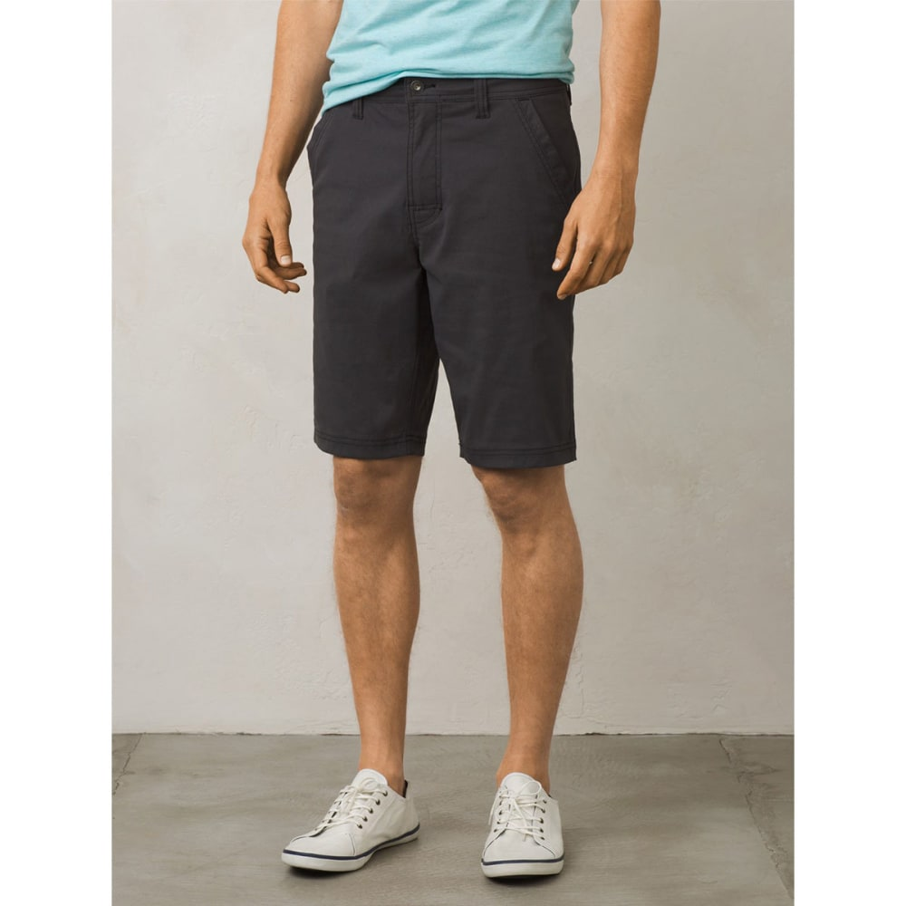 PRANA Men's Zion Chino Shorts - CHR-CHARCOAL