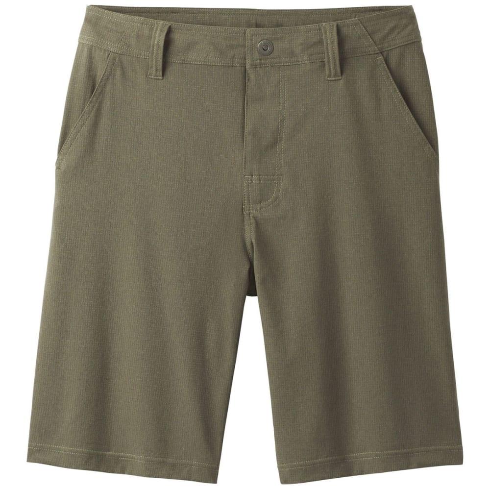 PRANA Men's Hybridizer Shorts - CARGO GREEN