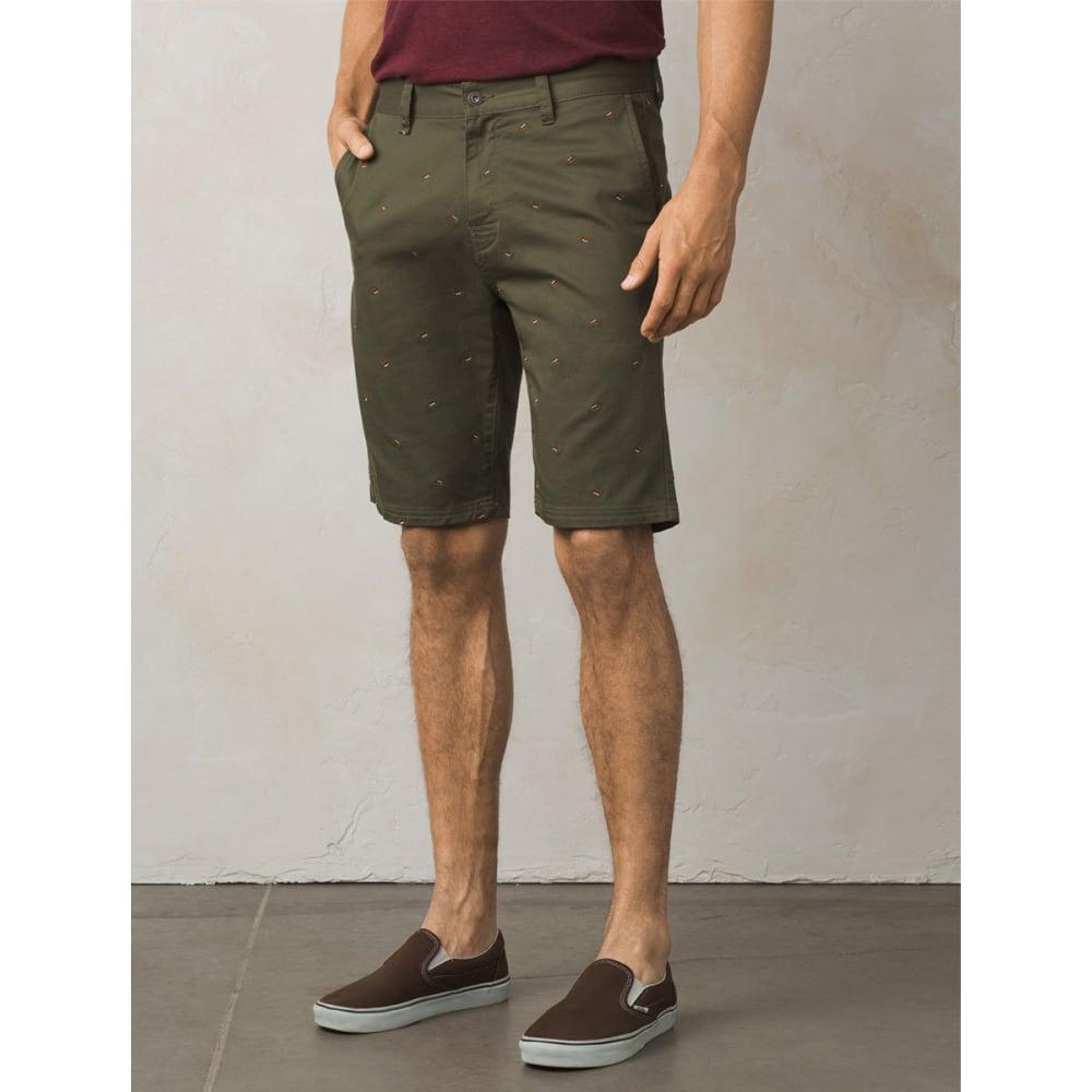 PRANA Men's Table Rock Chino Shorts - CAGR-CARGO GREEN