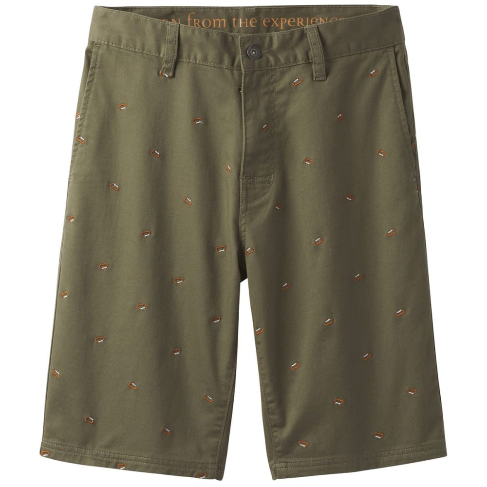 PRANA Men's Table Rock Chino Shorts - CAGR-CARGO GREEN