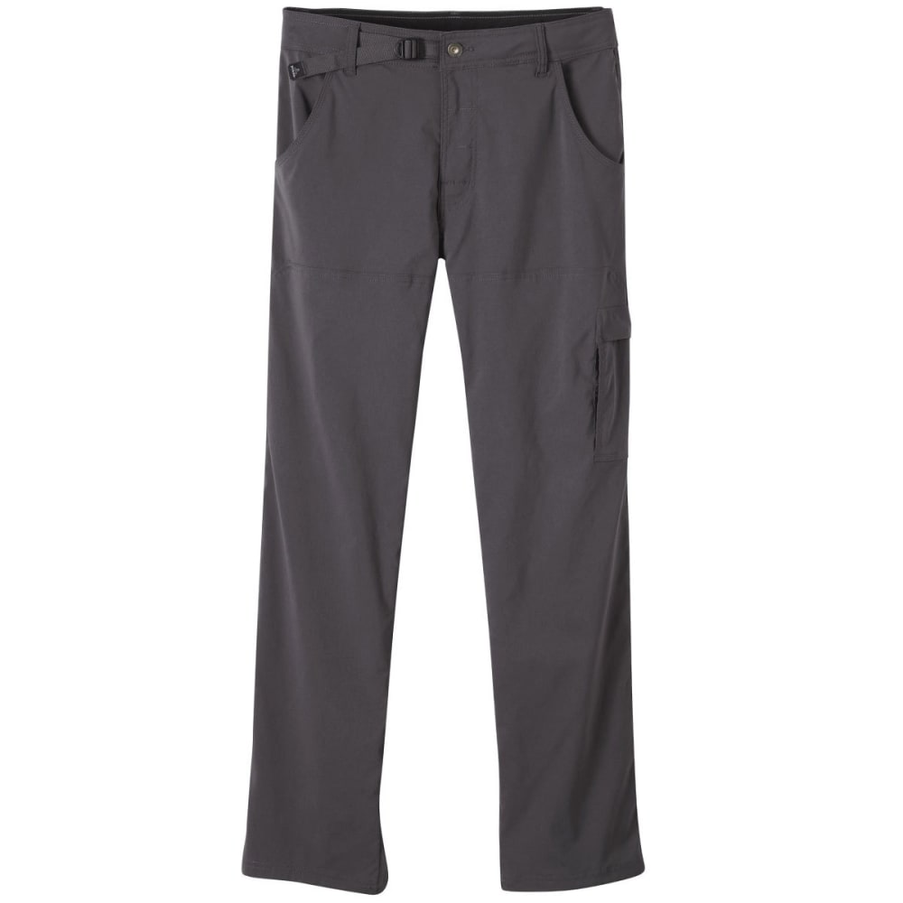 PRANA Men's Stretch Zion Pants, Short - CHR-CHARCOAL