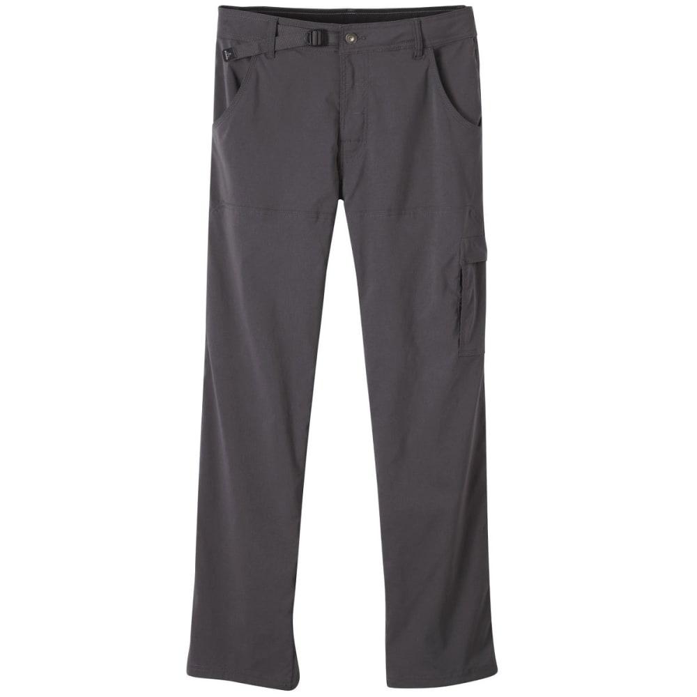 PRANA Men's Stretch Zion Pants, Short - CHR-CHARCOAL