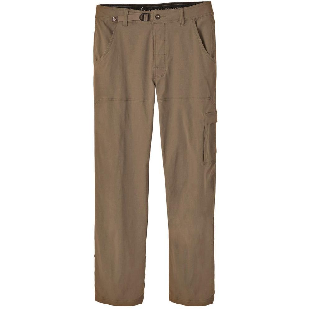 PRANA Men's Stretch Zion Pants, Short - MUD-MUD