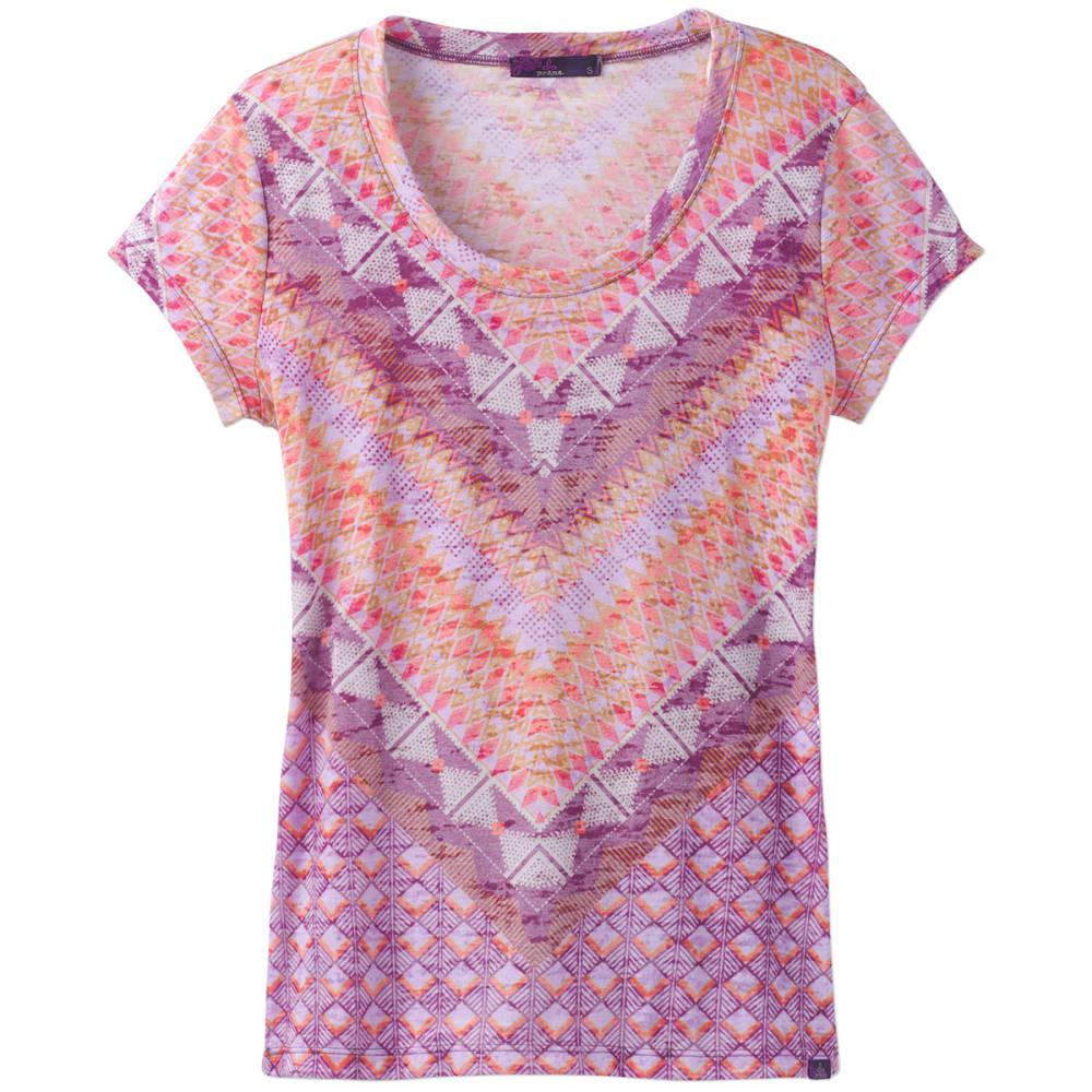 PRANA Women's Portfolio Crewneck Short-Sleeve Top XS