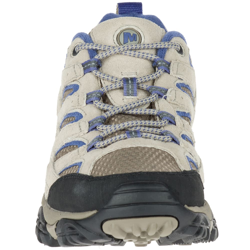 MERRELL Women's Moab 2 Ventilator Hiking Shoes, Aluminum/Marlin - ALUMINUM