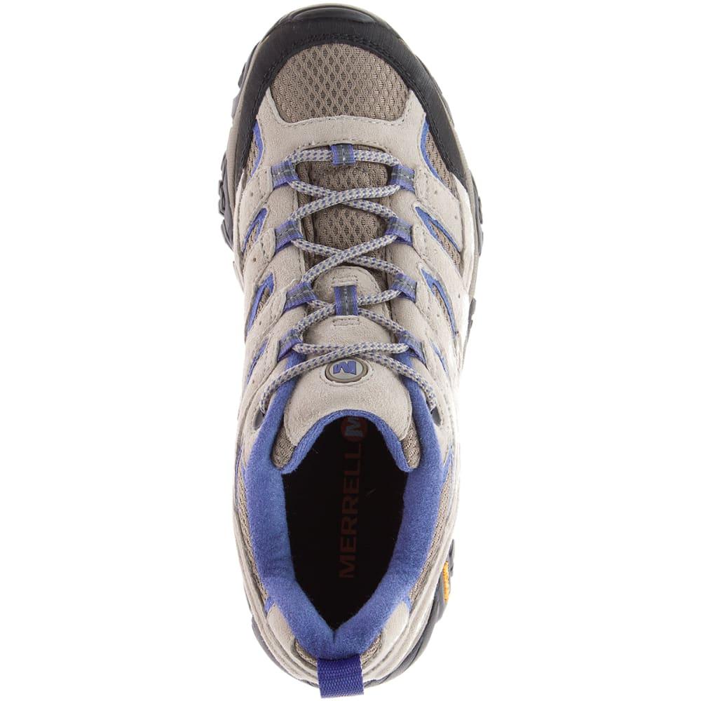 MERRELL Women's Moab 2 Ventilator Hiking Shoes, Aluminum/Marlin - ALUMINUM