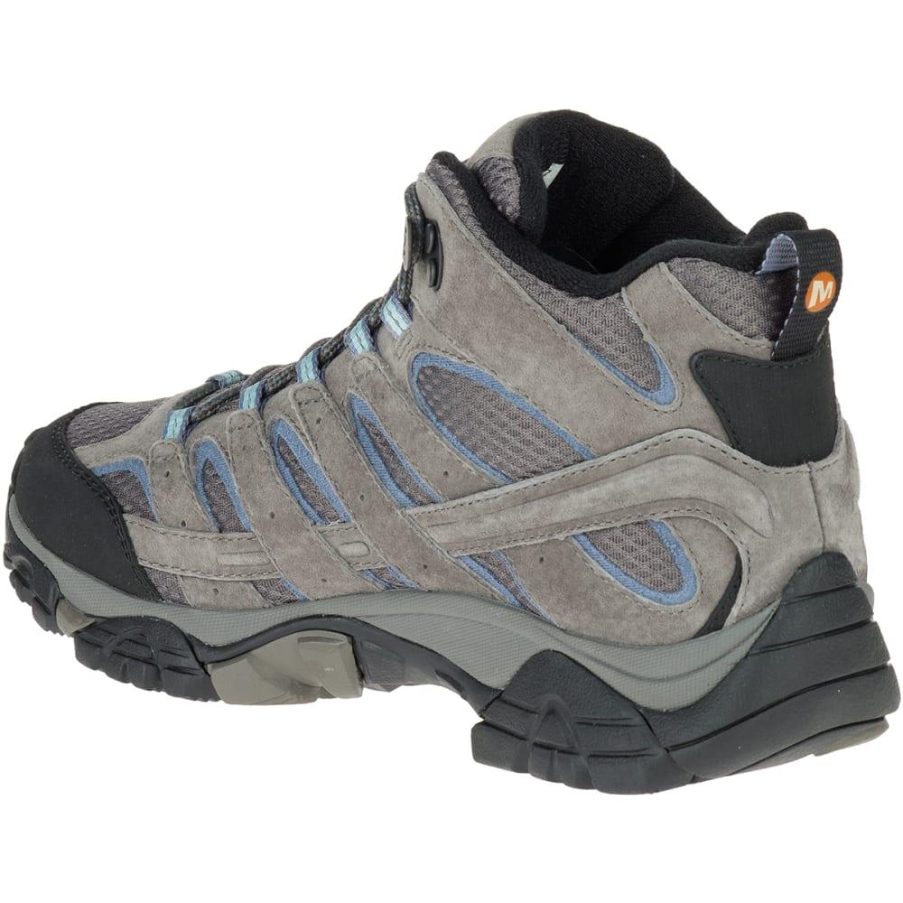 991f60b8cb2 MERRELL Women's Moab 2 Mid Waterproof Hiking Boots, Granite