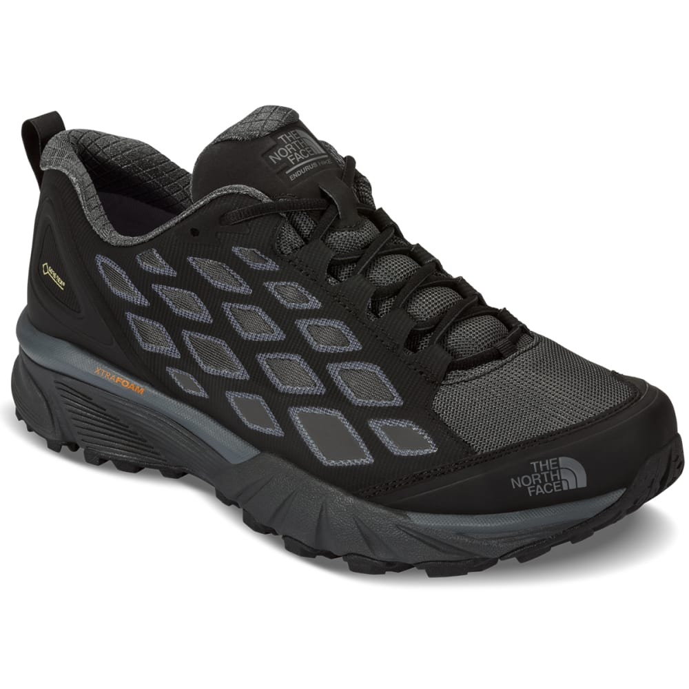THE NORTH FACE Men's Endurus Low GTX Hiking Shoes, Black/Dark Shadow Grey - TNF BLACK / GREY
