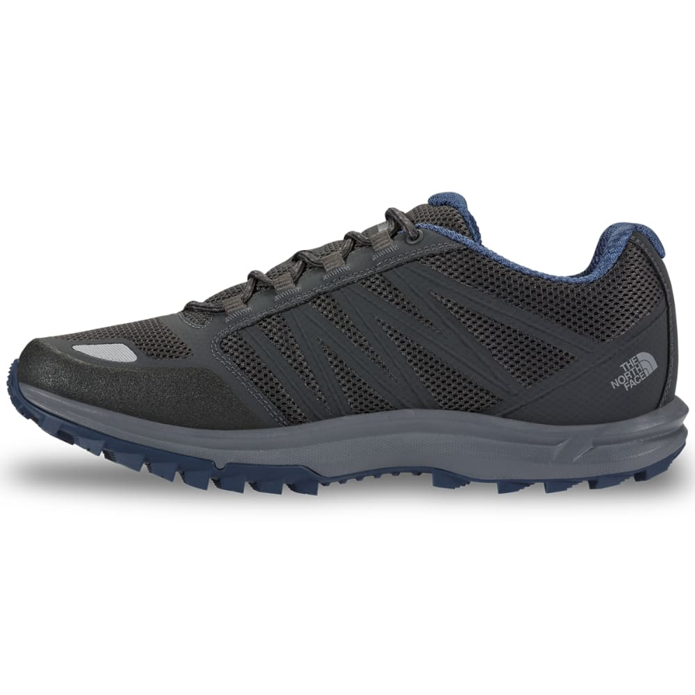 THE NORTH FACE Men's Litewave Fastpack Waterproof Hiking Shoes, Dark Shadow Grey - DK SHADOW GREY