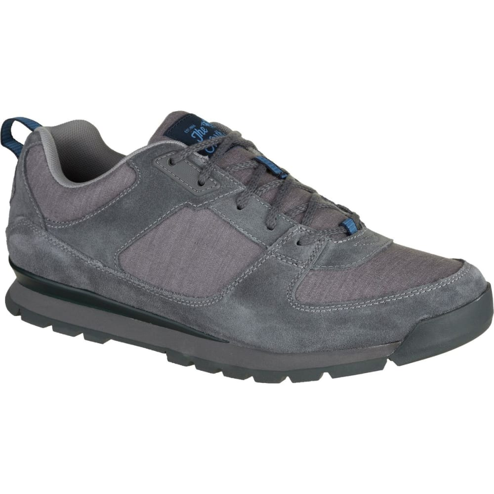 THE NORTH FACE Men's Back-To-Berkeley Redux Low Casual Shoes, Zinc Grey 8