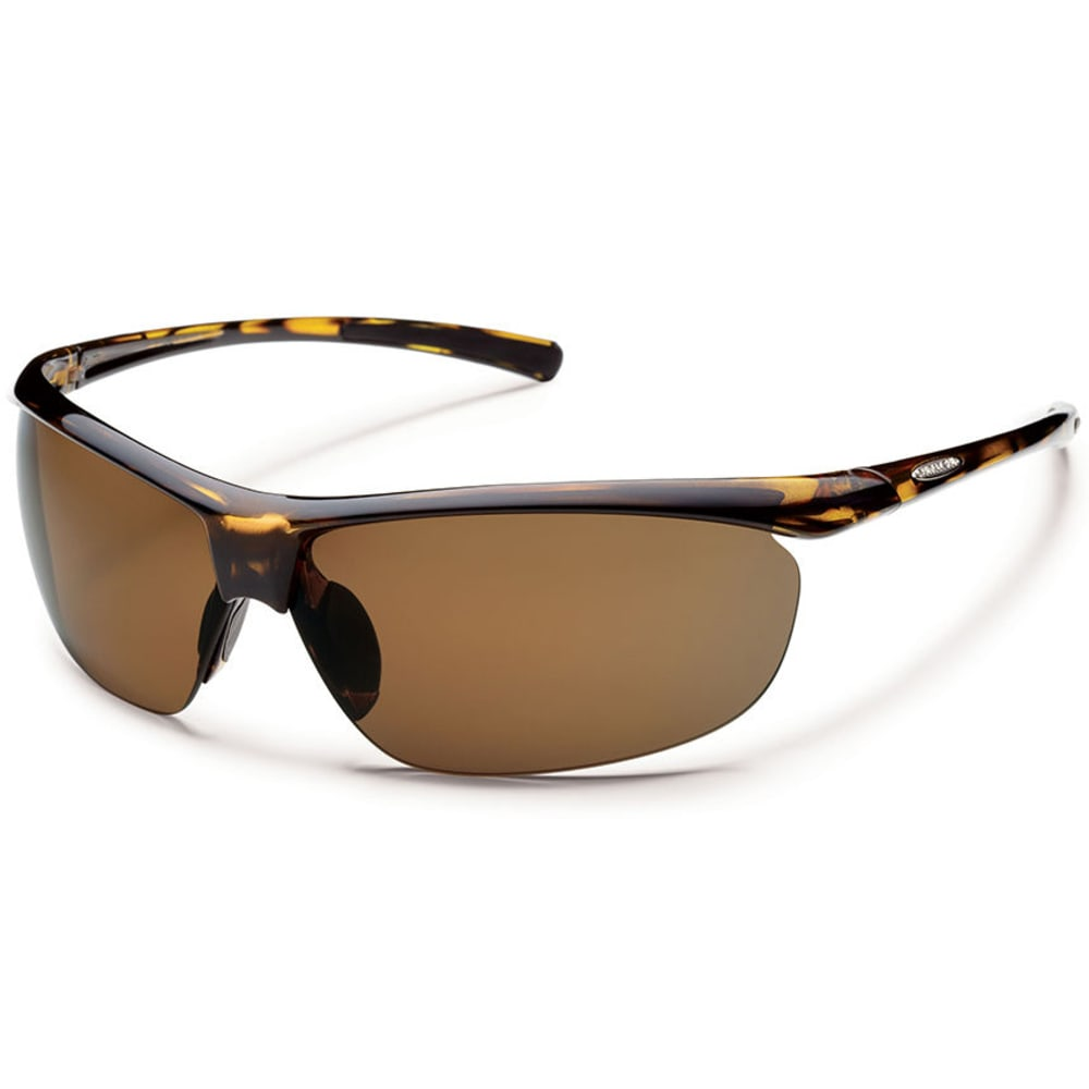 SUNCLOUD Zephyr Polarized Sunglasses - TORTOISE/BROWN