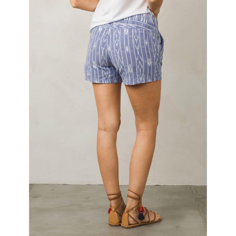 Prana Women's Reba Woven Short - CBT-COBALT