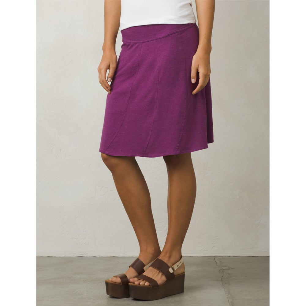 PRANA Women's Vendela Skirt - GPVN-GRAPEVINE