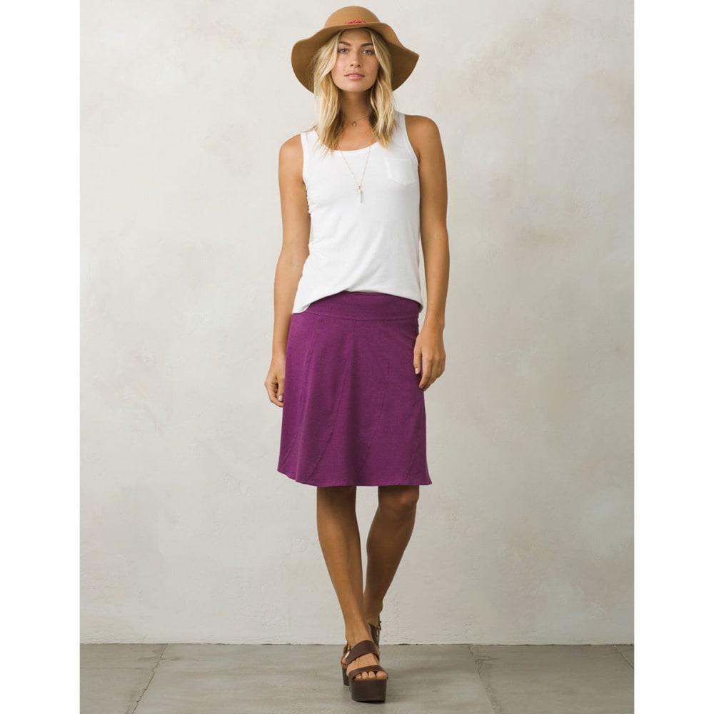 PRANA Women's Vendela Skirt - GPVN-GRAPEVINE