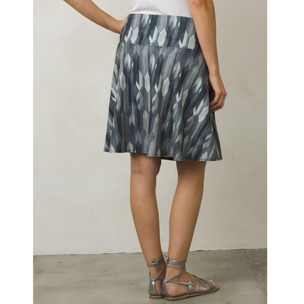 PRANA Women's Taj Printed Skirt - CCGM-CHARCOAL GEMSTO