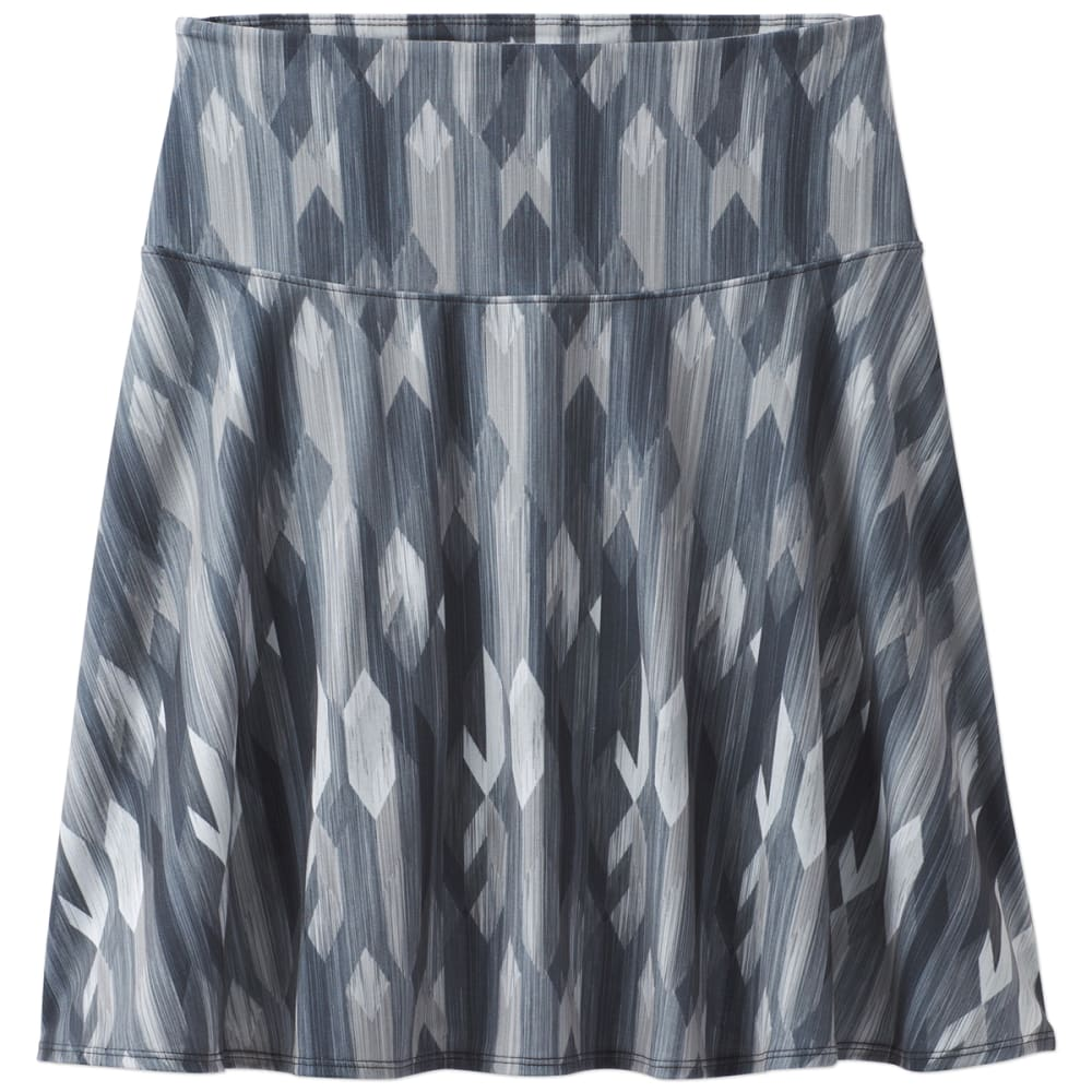 PRANA Women's Taj Printed Skirt - CCGM-CHARCOAL GEMSTO