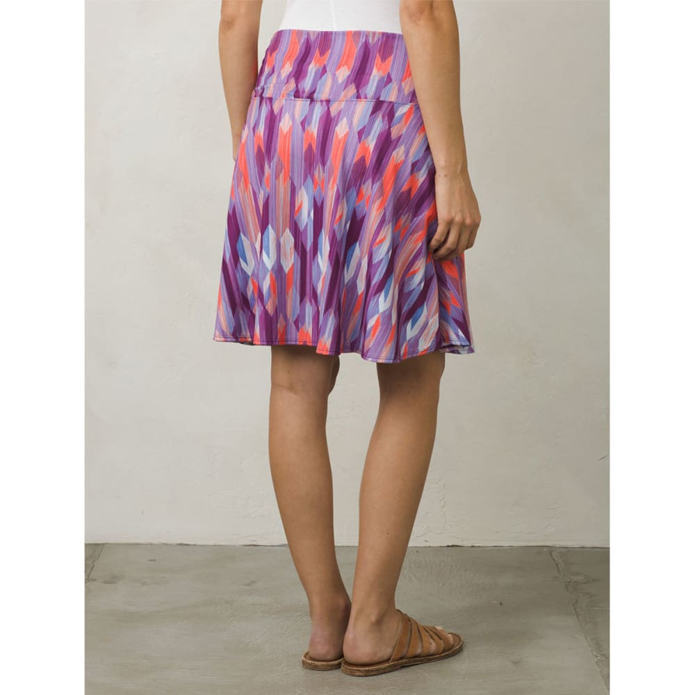 PRANA Women's Taj Printed Skirt - GVGM-GRAPEVINE GEMST