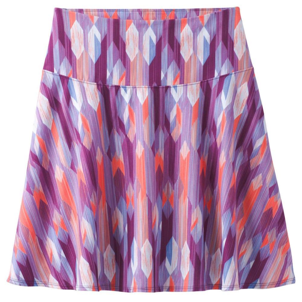 PRANA Women's Taj Printed Skirt - GVGM-GRAPEVINE GEMST