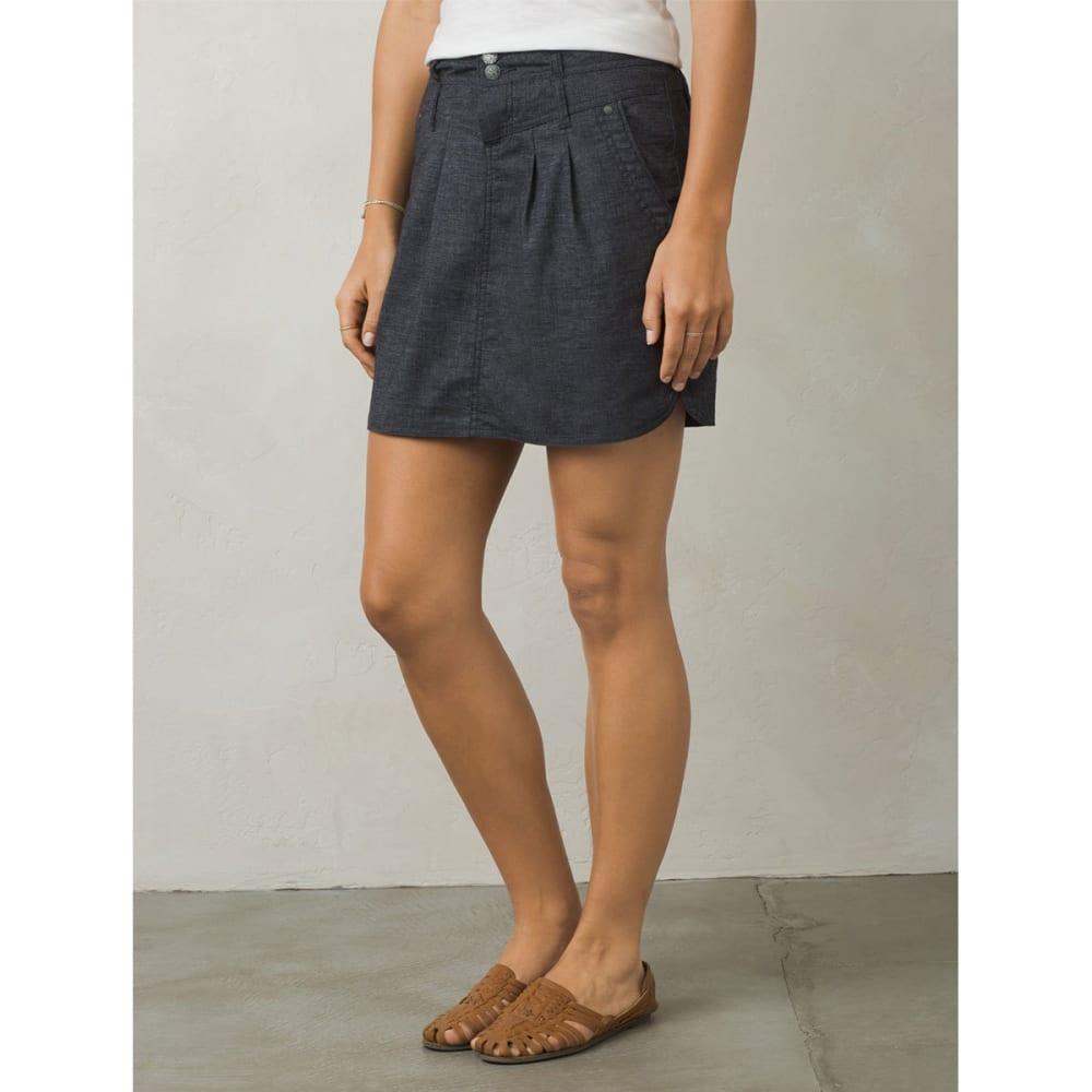 PRANA Women's Lizbeth Skirt - COAL-COAL