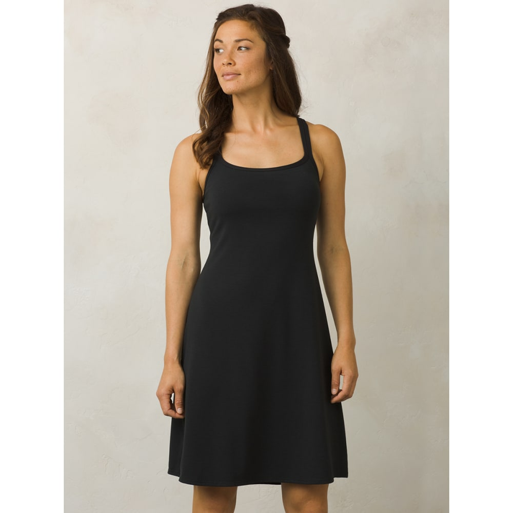 PRANA Women's Cora Dress - BLK-BLACK