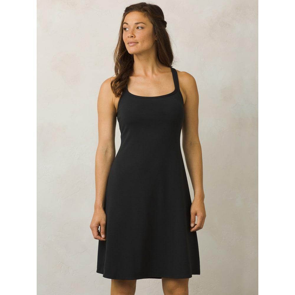 PRANA Women's Cora Dress - BLK-BLACK