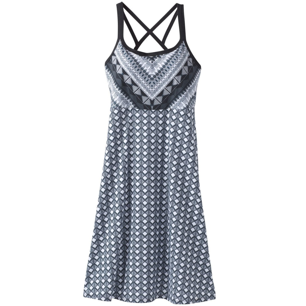 PRANA Women's Cora Dress - SYCT-SASHAY COBBLEST