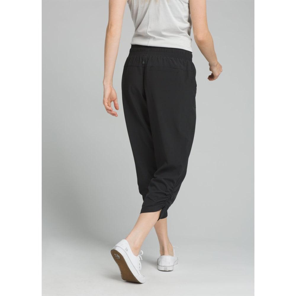 PRANA Women's Midtown Capri Pants - BLACK