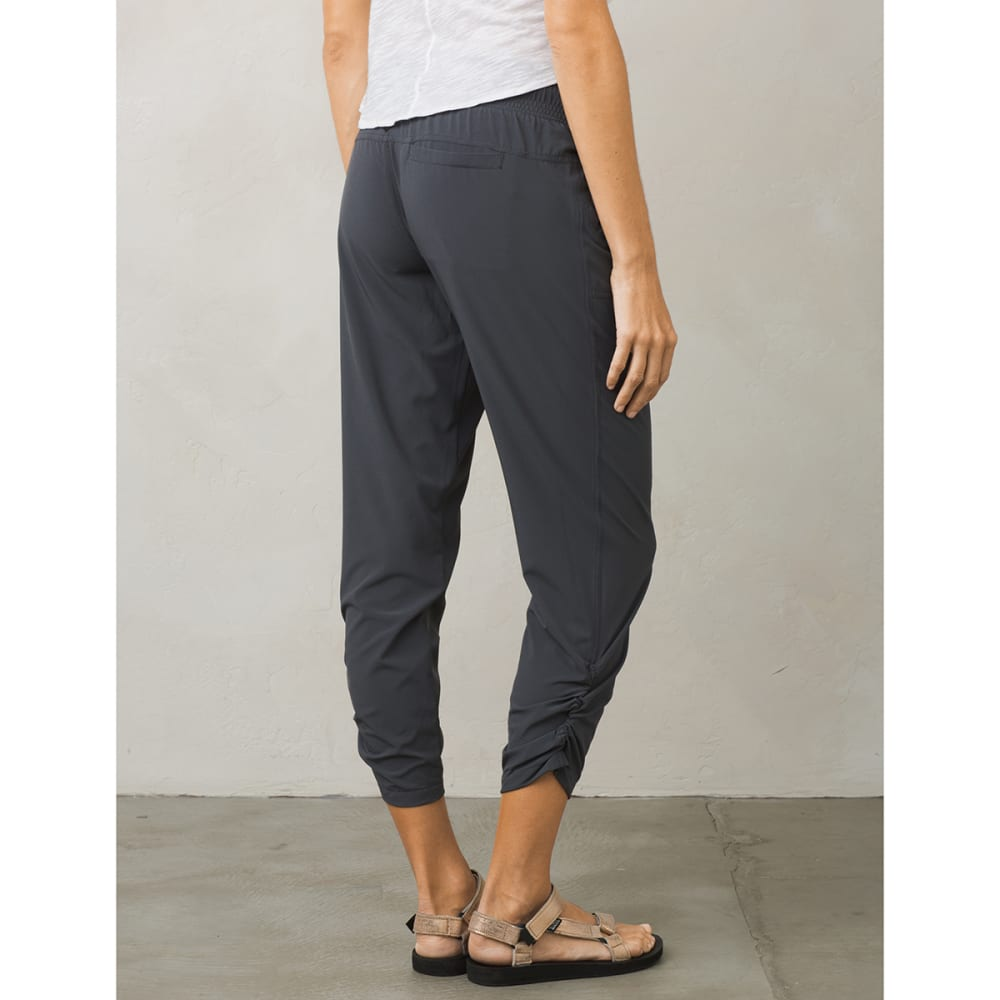 PRANA Women's Midtown Capri Pants - COAL-COAL
