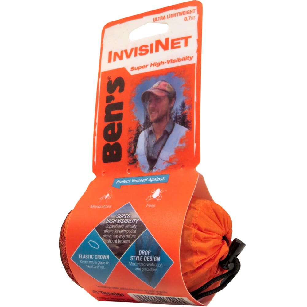BEN'S InvisiNet Head Net - NO COLOR