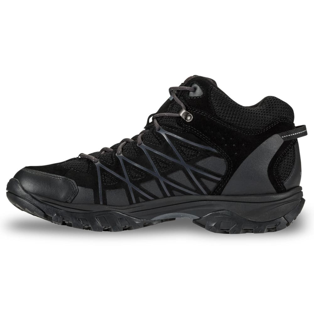 THE NORTH FACE Men's Storm III Mid Waterproof Hiking Boots, Black/Grey - TNF BLK/GRY-MRH