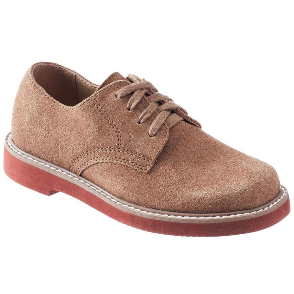 SPERRY Boys' Caspian Oxford Shoes - DARK BROWN