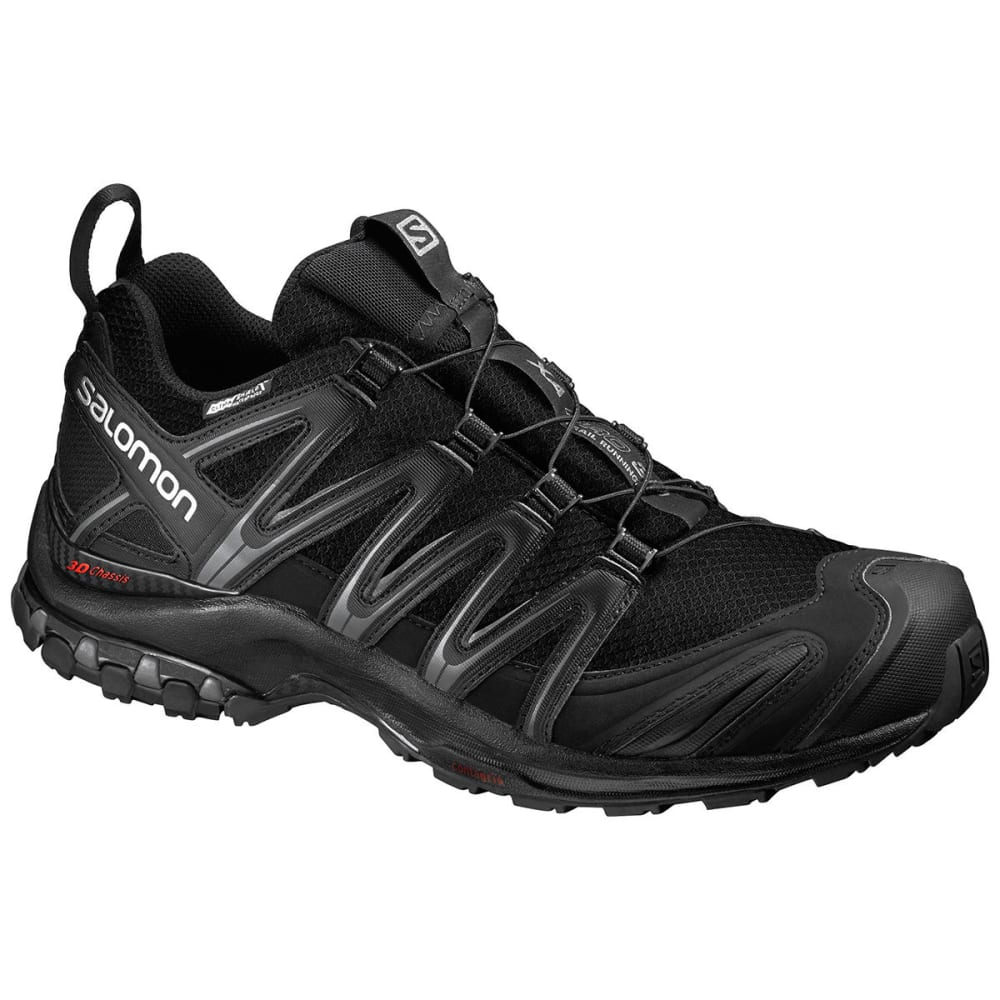 SALOMON Men's XA Pro 3D CS WP Trail Running Shoes, Black - BLACK