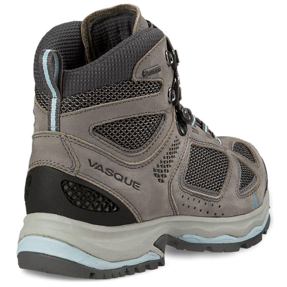VASQUE Women's Breeze III GTX Hiking Boots, Wide, Gargoyle/Stone Blue - GARGOYLE/STONE BLUE