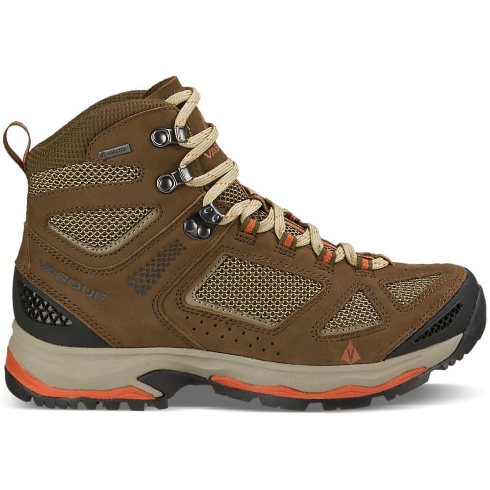 VASQUE Women's Breeze III GTX Hiking Boots, Slate Brown/Tandori - SLATE BROWN/TANDORI