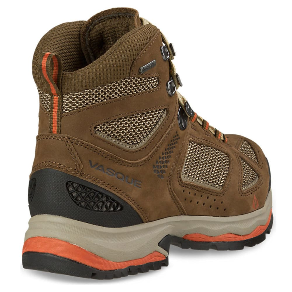 VASQUE Women's Breeze III GTX Hiking Boots, Slate Brown/Tandori - SLATE BROWN/TANDORI