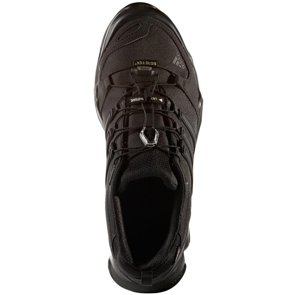 ADIDAS Men's Terrex Swift R GTX Hiking Shoes, Black - BLACK/BLACK/DK GREY