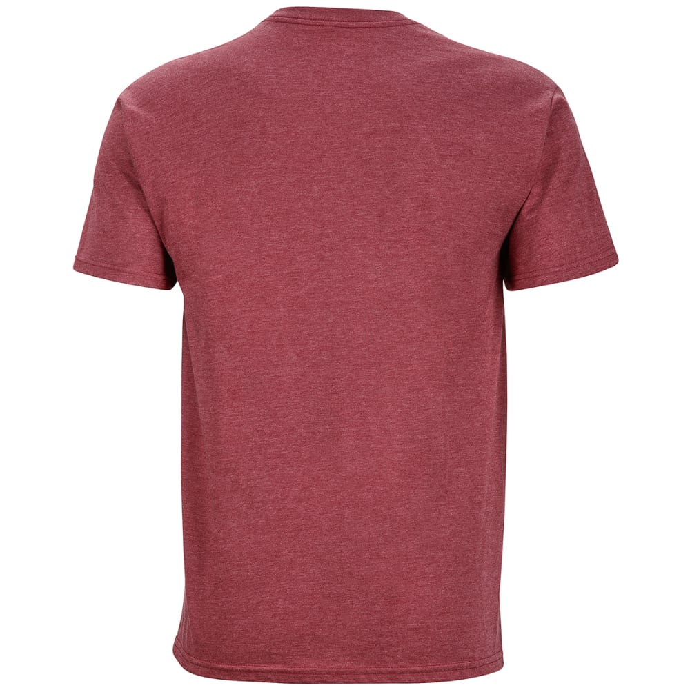 MARMOT Men's Turf Graphic Tee - 6823-BURGUNDY HTHR