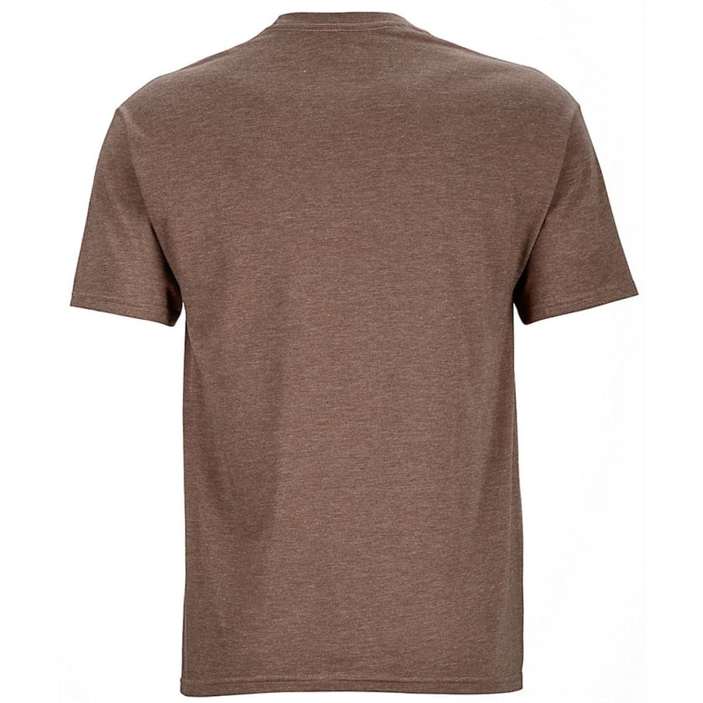 MARMOT Men's Pikes Peak Graphic Tee - 7139-BROWN HTHR