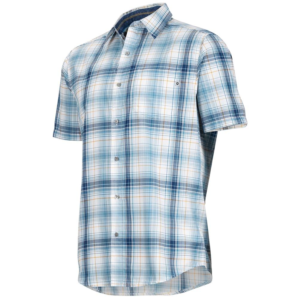 MARMOT Men's Notus Short-Sleeve Shirt - 3870-SLATE BLUE