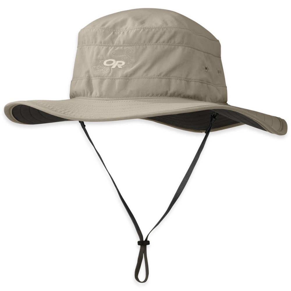OUTDOOR RESEARCH Women's Solar Roller Sun Hat - KHAKI/DK GRY-0808
