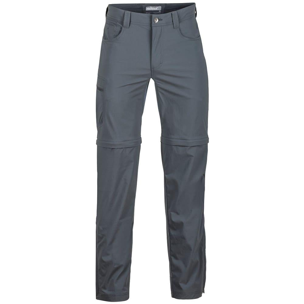 MARMOT Men's Transcend Convertible Pants - 1440-SLATE GREY