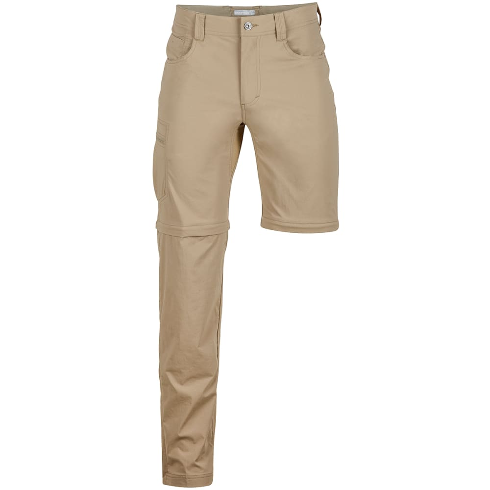MARMOT Men's Transcend Convertible Pants - 7203-DESERT KHAKI